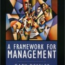 A Framework for Management 2nd by Gary Dessler 0130910333