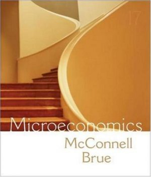 Microeconomics 17th by Campbell R. McConnell 0073273090