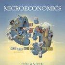 Microeconomics 6th by David C Colander 0072978848