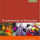 Fundamentals of Economics 3rd by Michael Melvin 0618496300