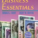 Business Essentials (3rd) by Ricky W. Griffin 0130842559