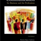 Communication for Business and the Professions, 7th by Baird