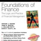 Foundations of Finance, activebook 2.0 by Arthur J. Keown 0130465399