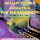 Quantitative Analysis for Management (7th) by Barry Render 0130215384