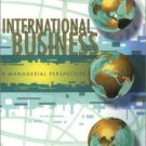 International Business : A Managerial Perspective (3rd) by Michael W. Pustay 013032907X