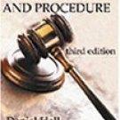 Criminal Law & Procedure 3rd by Daniel E. Hall 0766818314