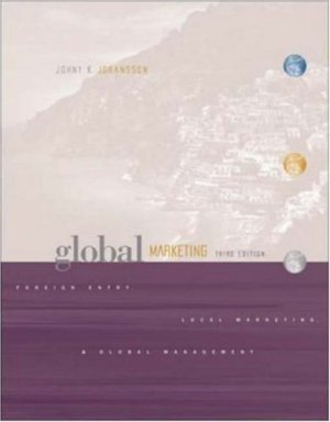 Global Marketing by Johny K. Johansson 0072471484