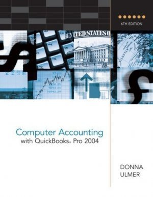 Computer Accounting with QuickBooks Pro 2004 by Donna Ulmer 0072865539