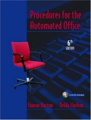 Procedures for the Automated Office 6th by Nelda Shelton 0131121499