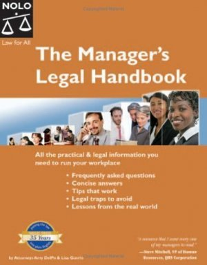 Manager's Legal Handbook by Amy Delpo 1413303668