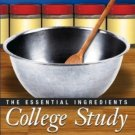 College Study : The Essential Ingredients by Sally Lipsky 0130488364