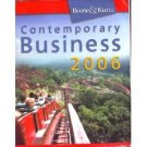 Contemporary Business 2006 by Louis E. Boone 0324320906