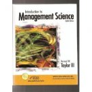 Introduction to Management Science by Bernard W. Taylor 0131424394
