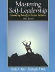 Mastering Self Leadership, Third Edition by Charles Manz 0131400460