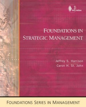 Cengage Advantage Books 3rd by Jeffrey S. Harrison 0324259174