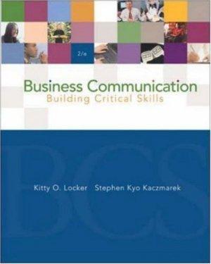 Business Communication 2nd by Kitty Locker 0072865717