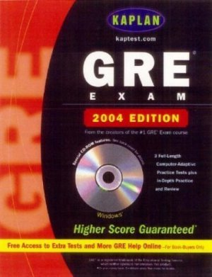 Kaplan GRE Exam 2004 by Kaplan 0743241428