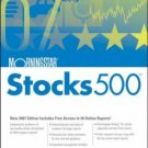 Morningstar Stocks 500 : 2007 by Mike Porter 0471786659