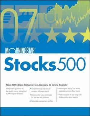 Morningstar Stocks 500 : 2007 by Mike Porter 0471786659
