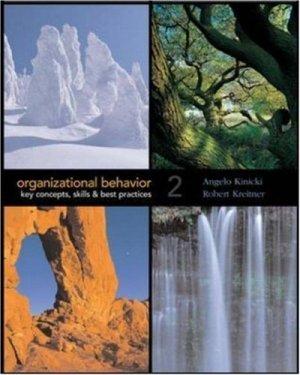 Organizational Behavior 2nd by Angelo Kinicki 0073138339