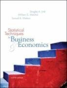 Statistical Techniques in Business and Economics 12th by Douglas A. Lind 0072971215