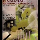 Multinational Financial Management 6th by Alan C. Shapiro 0471366102