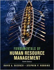 Fundamentals of Human Resource Management / Edition 9 by  DeCenzo 047000794X