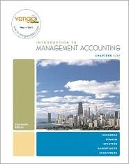 Management Accounting / Edition 14 by Charles T. Horngren 0136129218