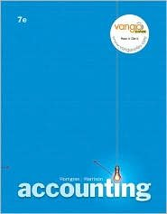 Accounting Chapters 12 - 25 / Edition 7 by Charles T. Horngren 0132249960