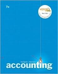 Accounting Chapters 1-17 / Edition 7 by Charles T. Horngren 0132399490