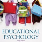 Educational Psychology 3rd by John W Santrock 0073525820