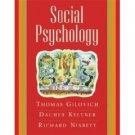 Social Psychology by Dacher Keltner 0393978753