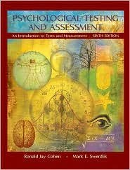Psychological Testing and Assessment 6th by Ronald Jay Cohen 0072887672