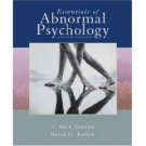 Essentials of Abnormal Psychology 4th by David H. Barlow 0495031283