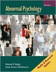 Abnormal Psychology 5th by Susan Krauss Whitbourne 0077236386