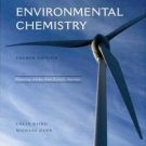 Environmental Chemistry 4th by Colin Baird 1429201460