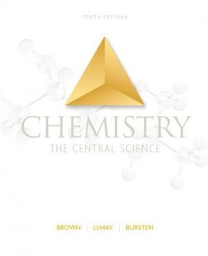 Chemistry The Central Science 10th Ed by Theodore E. Brown 0131096869