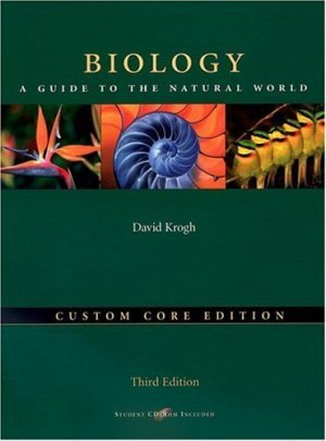 Biology A Guide to the Natural World 3rd by David Krogh 0131471309