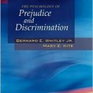 The Psychology of Prejudice and Discrimination / Edition 1 by Bernard E. Whitley 0534642713