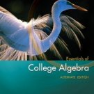 Essentials of College Algebra, Alternate Edition by Margaret L. Lial 0321491858