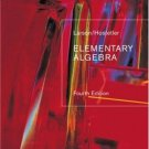 Elementary Algebra 4th Ed. by Ron Larson 0618388176