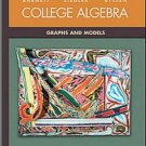 College Algebra: Graphs and Models 2nd Ed. by BARNETT 0072424281