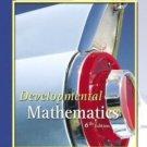 Developmental Mathematics 6th Edition by Marvin L. Bittinger 0321143183