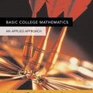 Basic College Mathematics: An Applied Approach 8th Ed. by Richard N. Aufmann 0618503056