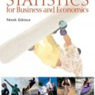 Statistics for Business and Economics 9th Edition by James T. McClave 0130466417