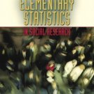 Elementary Statistics in Social Research 10th Edition by Jack A. Levin 0205459587