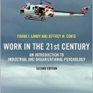 Work in the 21st Century 2nd by Jeffrey M. Conte 1405144343