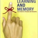 Learning And Memory 3rd by W. Scott Terry 032127377X