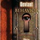 Deviant Behavior 9th by Alex Thio 0205512585