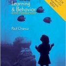 Learning & Behavior 5th by Paul Chance 0495032077